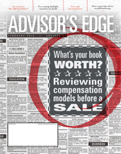 Advisor's Edge February 2019 cover